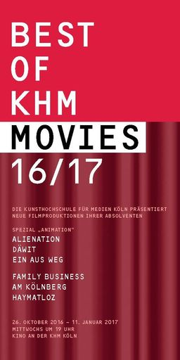 Best of KHM Movies im Wintersemester 2016/17